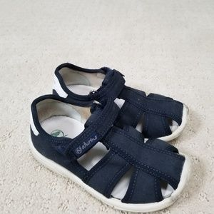 Naturino navy blue fisherman sandals, Euro size 25